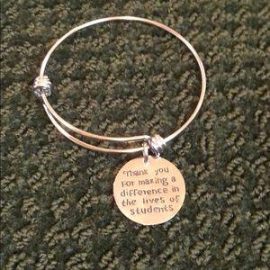 Teacher bracelet brand new